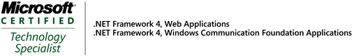 MCTS - Web Apps, WCF